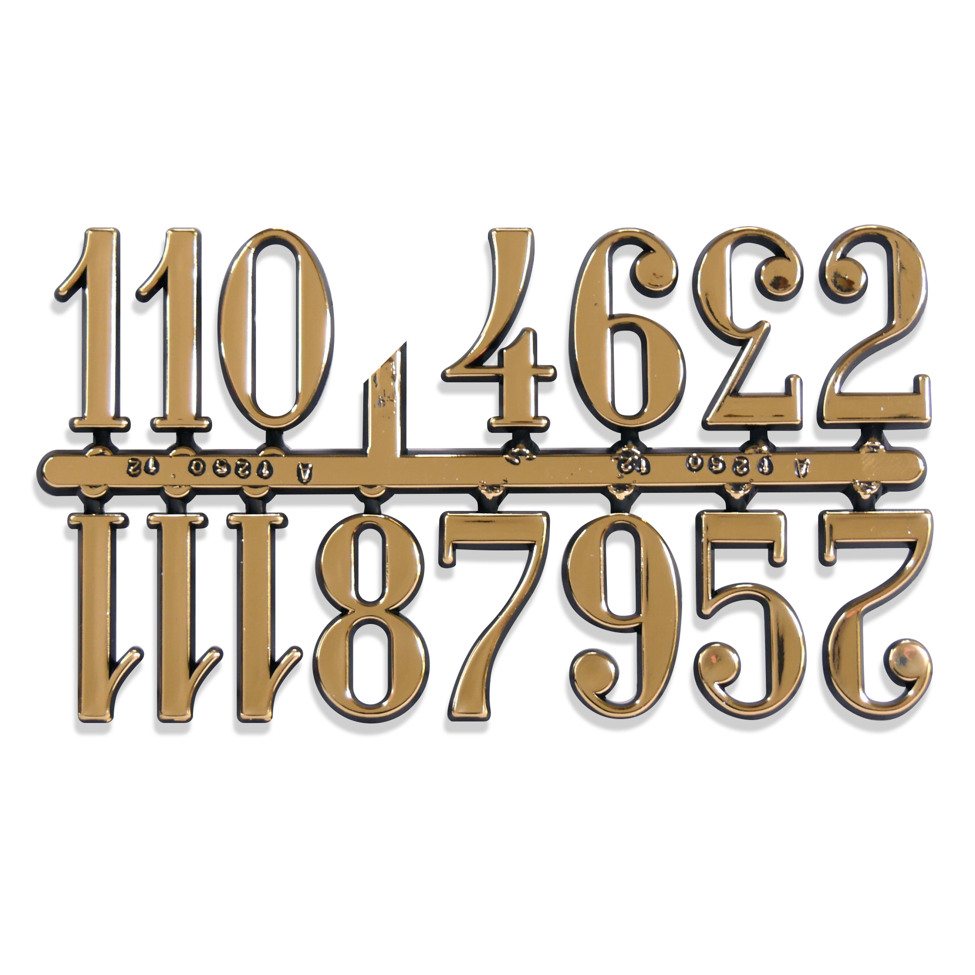 Clock Numbers & Markers